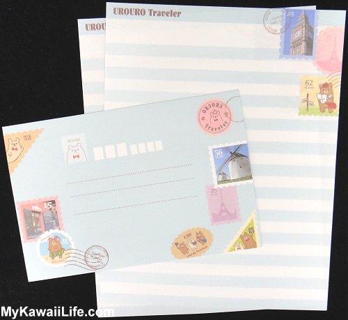Urouro Traveler Letter Set Design 3