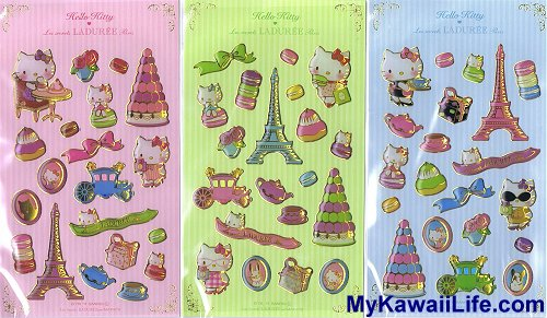 Hello Kitty Laduree Stickers