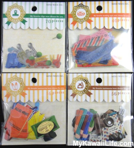 Mind Wave Stationery Sticker Sacks