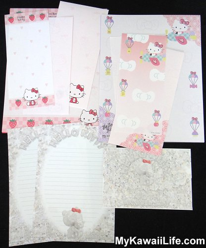 Hello Kitty Letter Sets