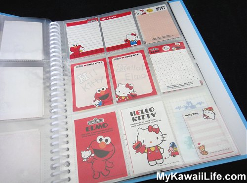 Hello Kitty & Elmo Mini Memos