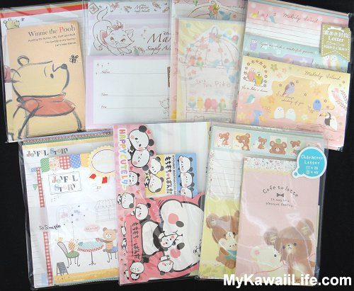 More Kawaii Letter Sets